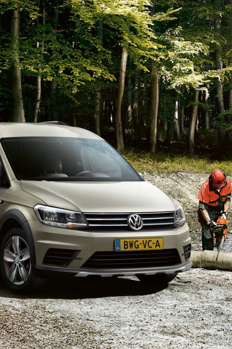 Volkswagen-Caddy-uitvoering
