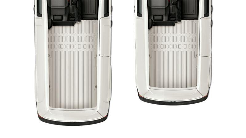 Dimensiones zona de carga  Caddy Cargo Van.