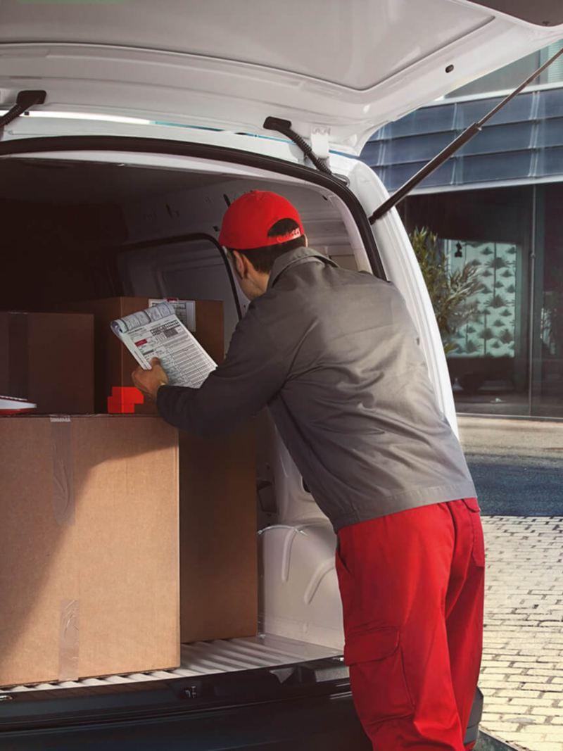 Caddy Cargo Van puerta trasera