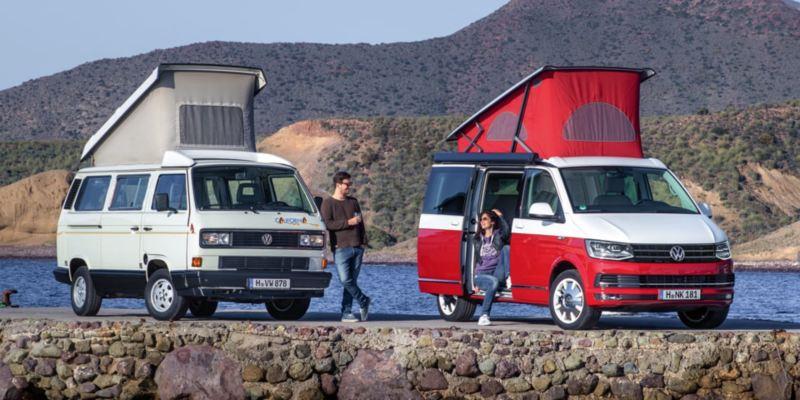 Volkswagen Utilitaires California 30 ans anniversaire port