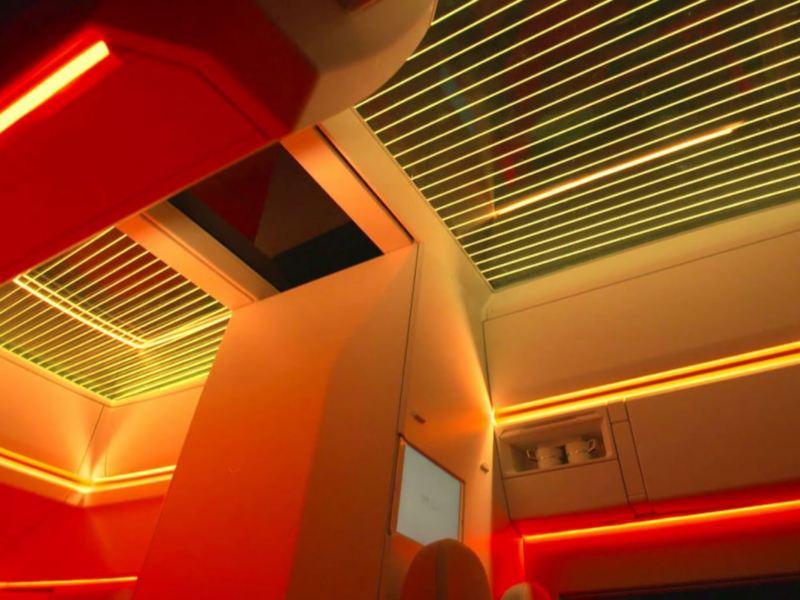 Die Innenraumbeleuchtung der California XXL-Studie im Detail.