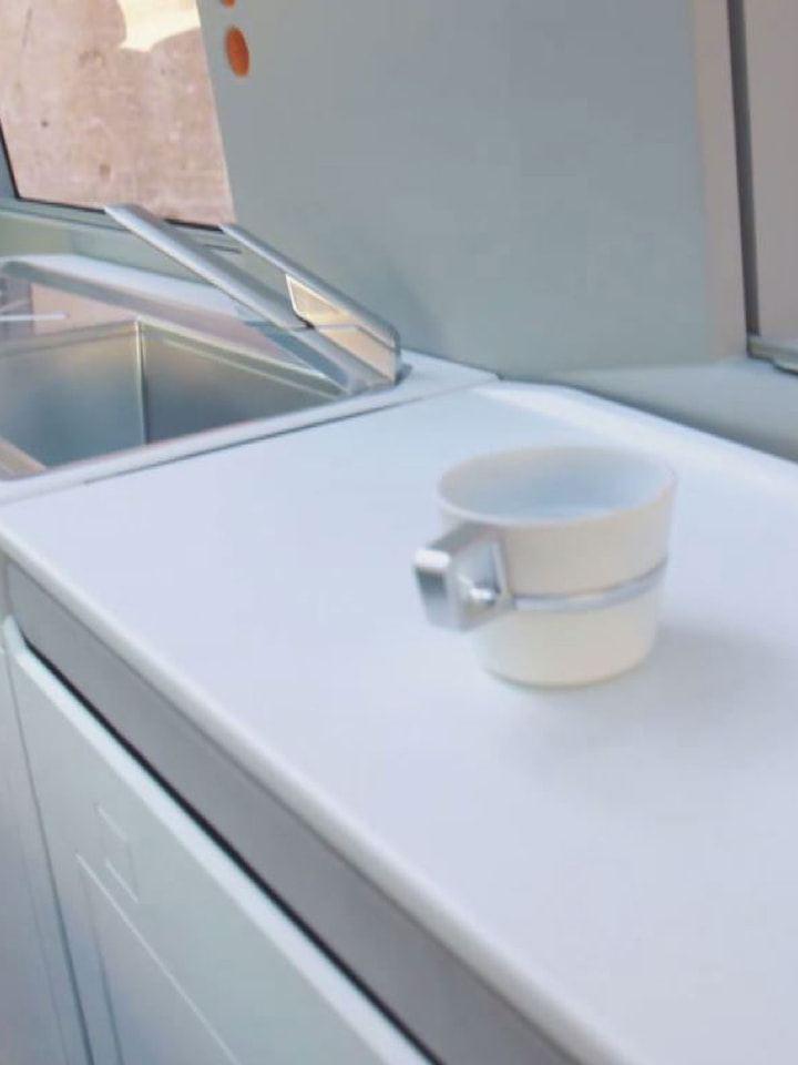 Volkswagen Utilitaires California xxl interieur tasse