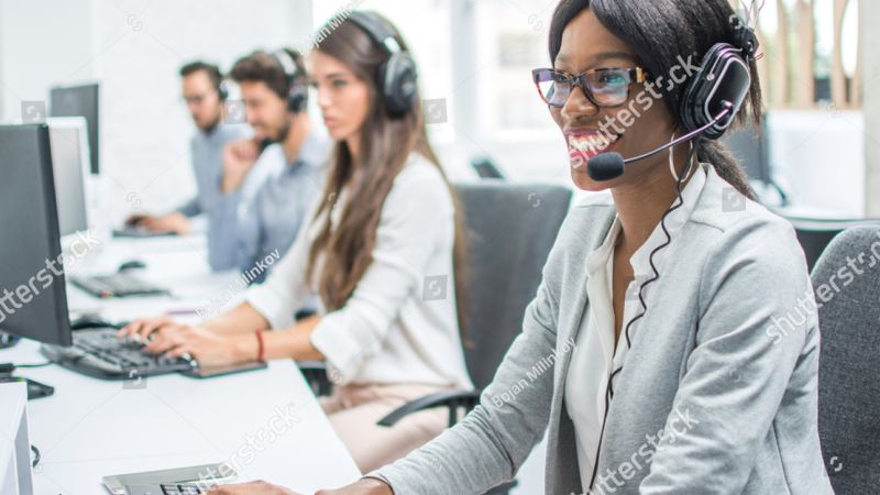 Caddy call centre support