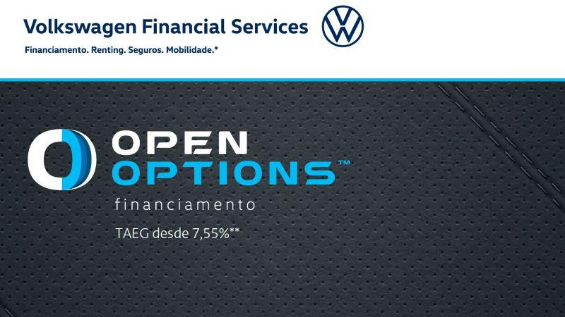 Folheto Open Options