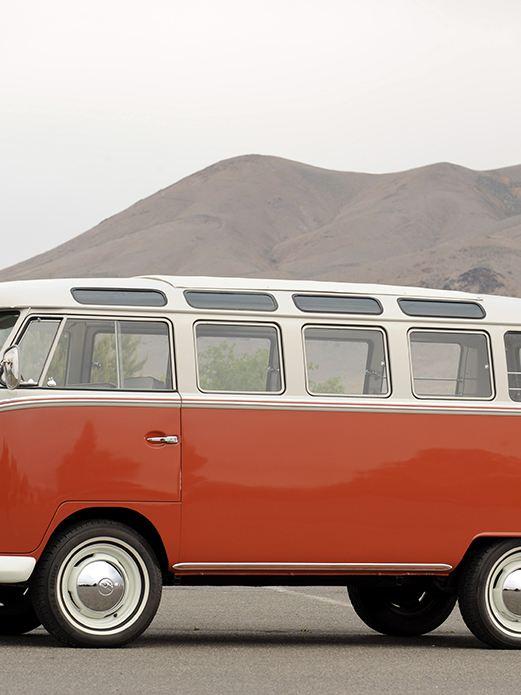 Minibus VW classique restaurée