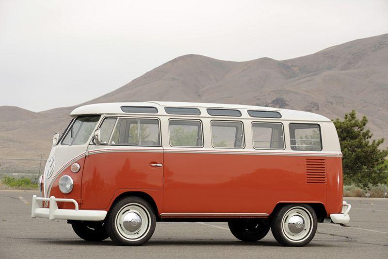 Classic VW Minibus restored