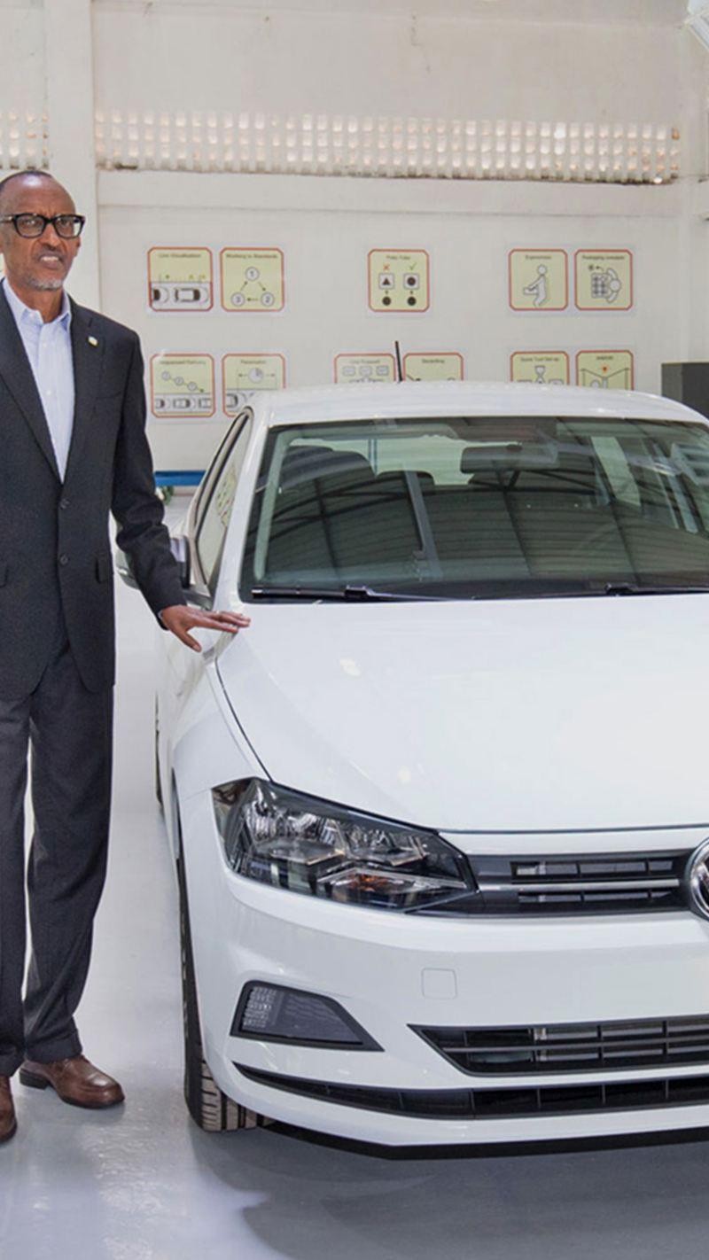 Volkswagen opens plant in Rwanda