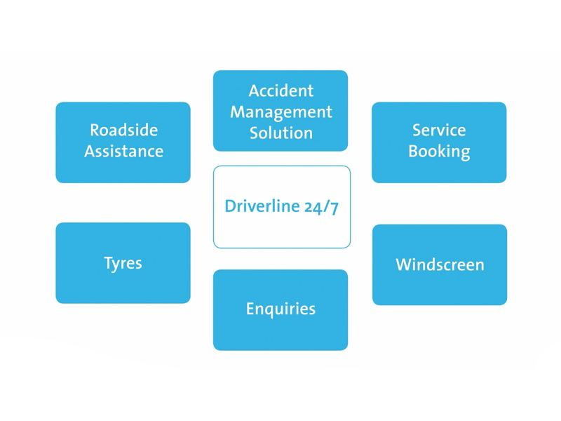 Diagram regarding Driverline services.