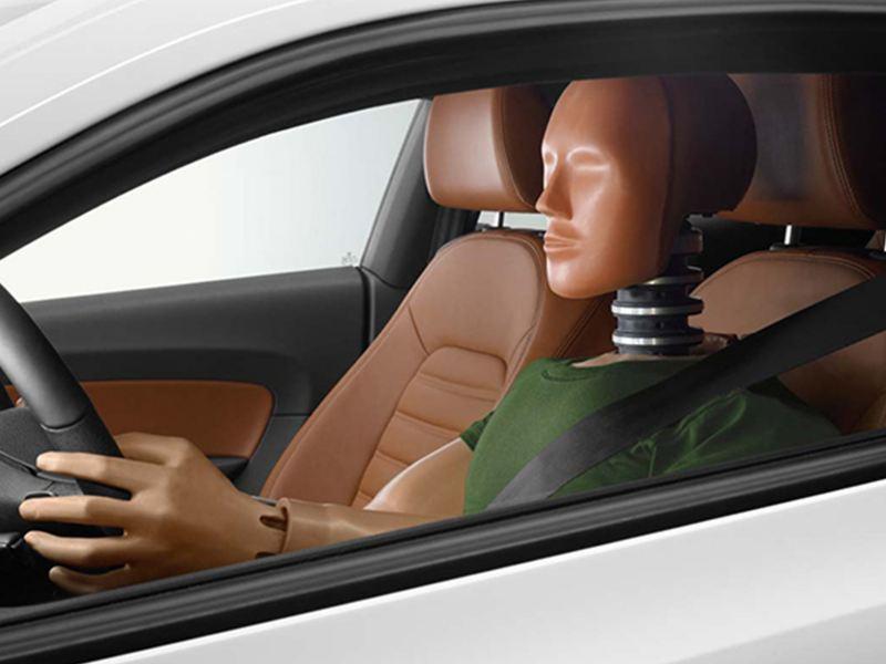 Volkswagen crash test dummy