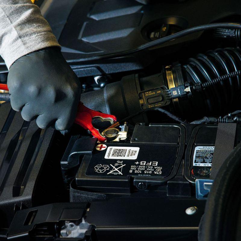 Como Cargar la Bateria de tu auto VW