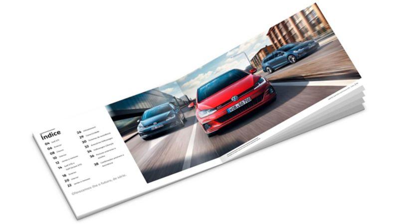 "Catalogo Golf GTI ""Performance"""
