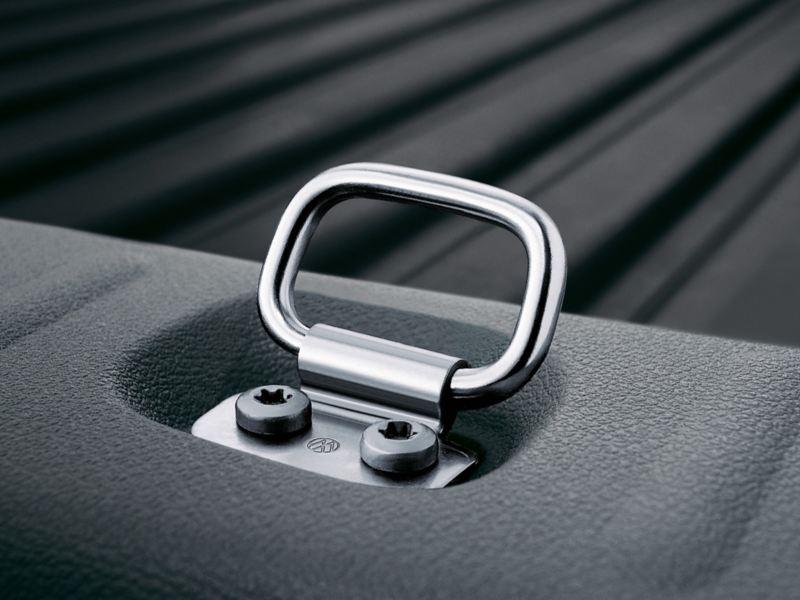 Lastsäkring öglor i VW Caddy Skåps lastutrymme
