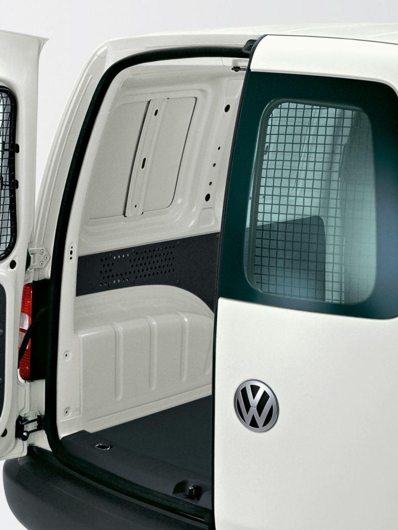 Skyddsgaller i lastutrymmet för VW Caddy Skåp