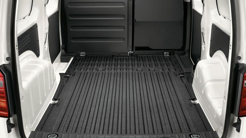 Gott om lastutrymme i VW Caddy Skåp