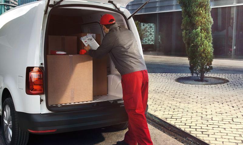 VW Caddy Skåp gott om lastutrymme