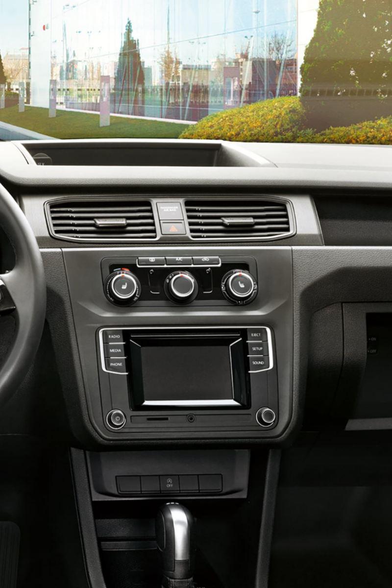 Volkswagen Caddy Skåp interiör med gott om plats