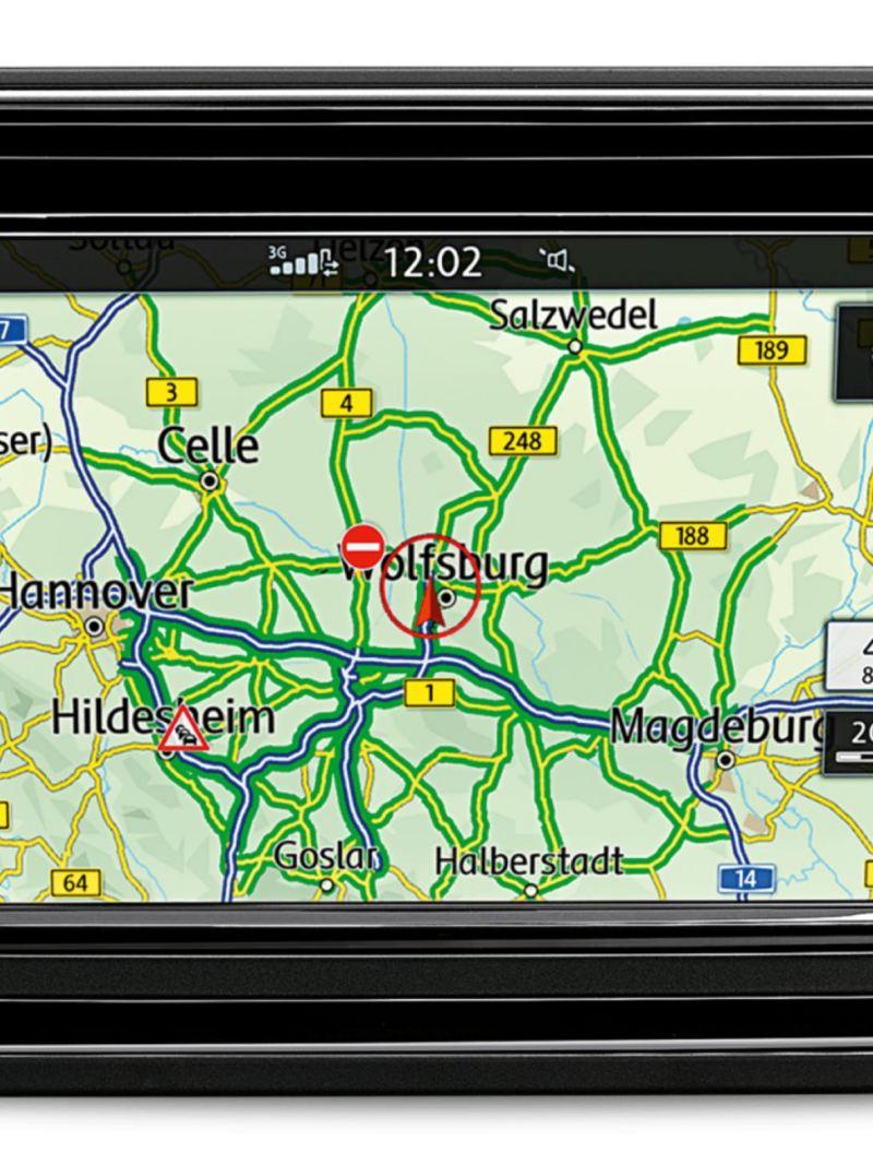 Navigationssystem Discover Media i VW Amarok pickup