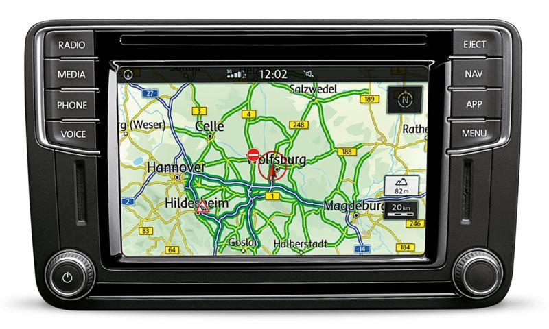 Discover Media navigationssystem i VW Caddy Skåp