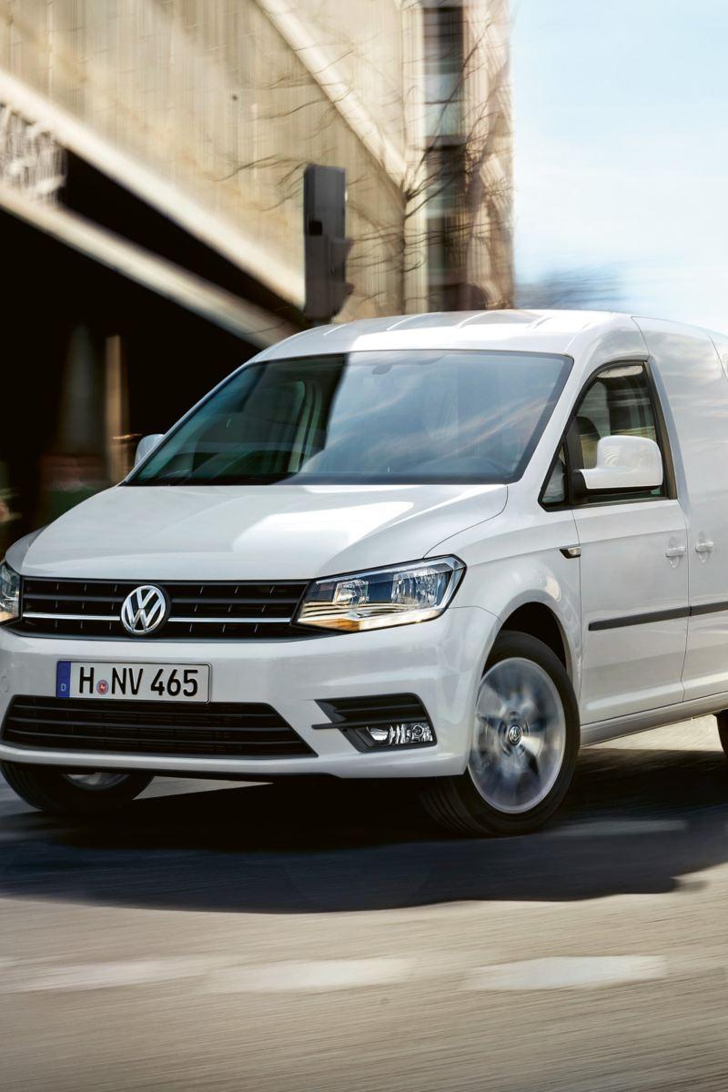 Volkswagen Caddy Skåp i stadsmiljö