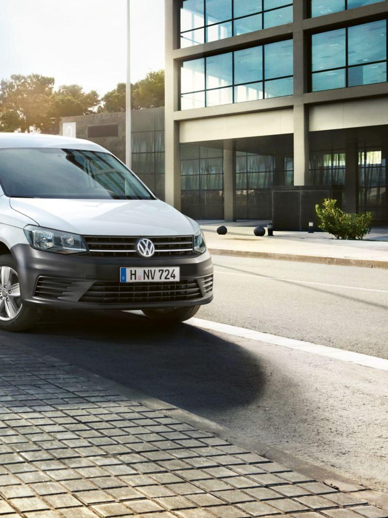 Caddy Van Blanc Volkswagen Utilitaiires