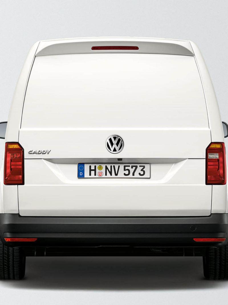 Baklucka på en VW Caddy Skåp
