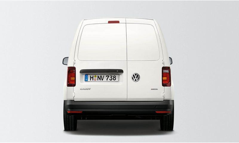 Bakdörrar på en VW Caddy Skåp
