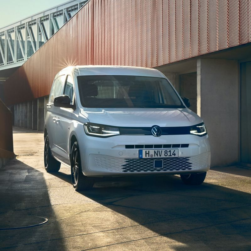Der neue Volkswagen Caddy Cargo als Transportwagen.