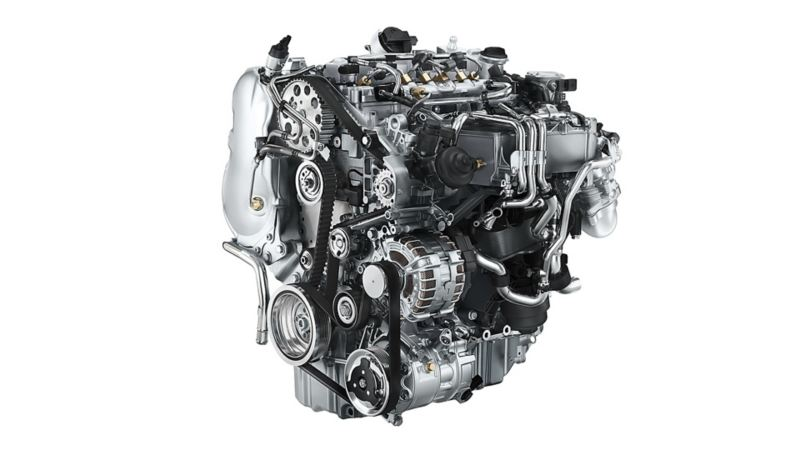 vw-caddy-engine