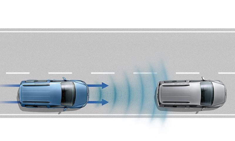 VW Caddy Skåp med ACC och Front Assist