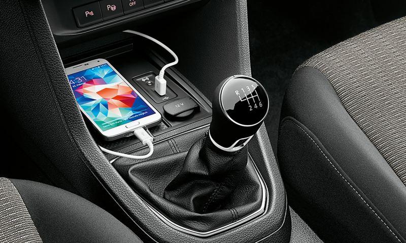 Mobiltelefongränssnitt till VW Caddy Skåp