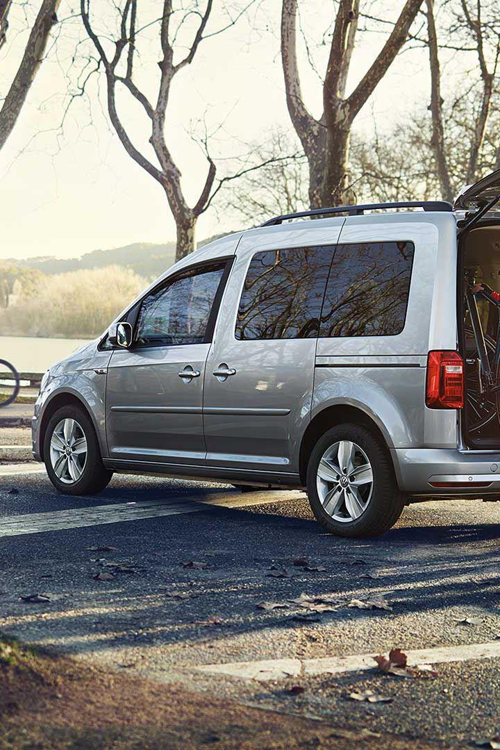 VW Volkswagen Caddy Maxi personbil familiebil 7 seter 9 seter