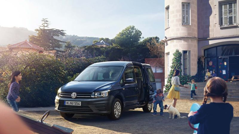Volkswagen Caddy Personbil rymmer hela familjen