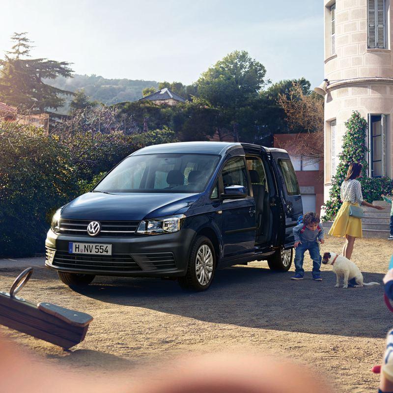 Volkswagen Véhicules Utilitaires Caddy 4 life vu de profil