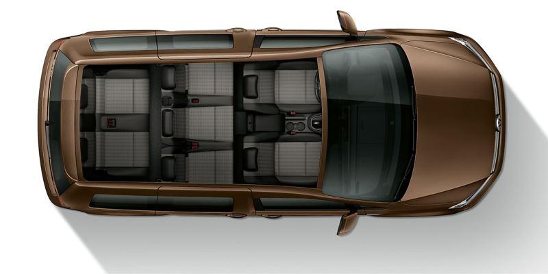 Volkswagen Caddy Personbil 7-sits familjebil gott om plats