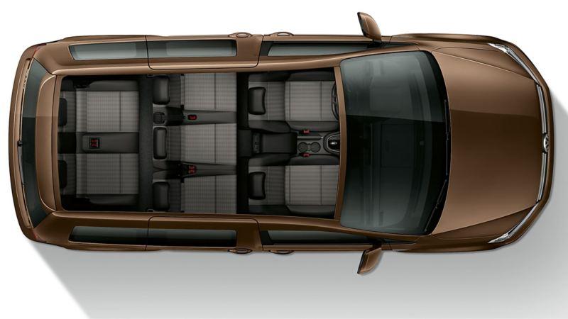 VW Volkswagen Caddy Maxi personbil familiebil 7 seter 2 seter isofix rullestolbil