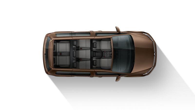 Volkswagen Caddy med sju säten
