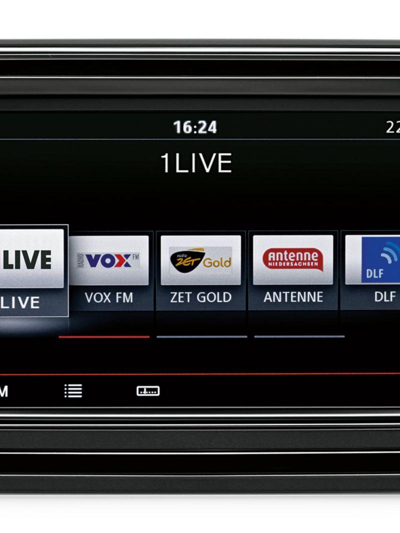 Radio Composition Media till VW Caddy Skåp