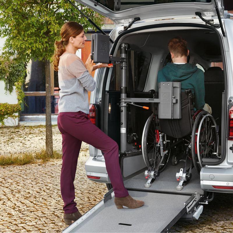 Handikappanpassad VW Caddy