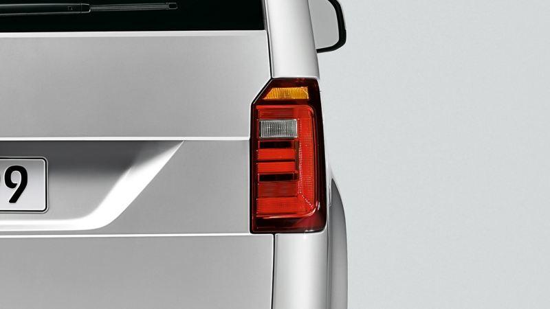 Volkswagen Caddy Personbil 7-sits familjebil baklykta