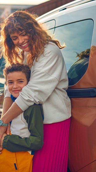 vw Volkswagen nye Caddy liten kompakt familiebil flerbruksbil familietur