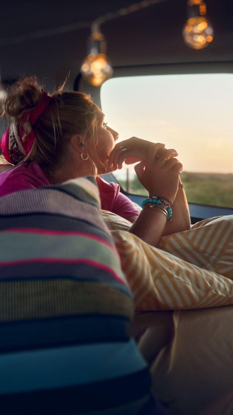 Nye Caddy California minicamper mini camper bobil nordic campers glamping camping stor personbil familiebil stort bagasjerom 7-seter panorama glasstak