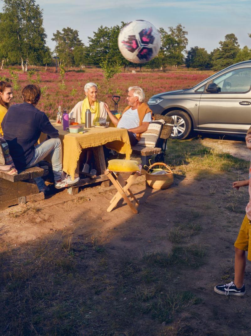 Volkswagen Caddy med plats för hela familjen