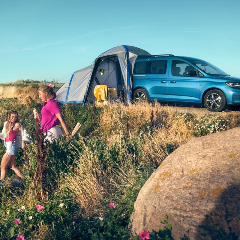 vw Volkswagen Caddy California bobil mini camper minicamper campingbil camping glamping familiebil