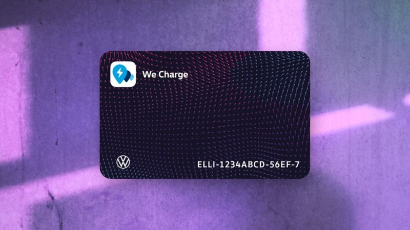 We Charge charging card