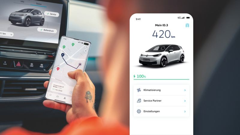 Keep track of We Charge in the We Connect ID. app