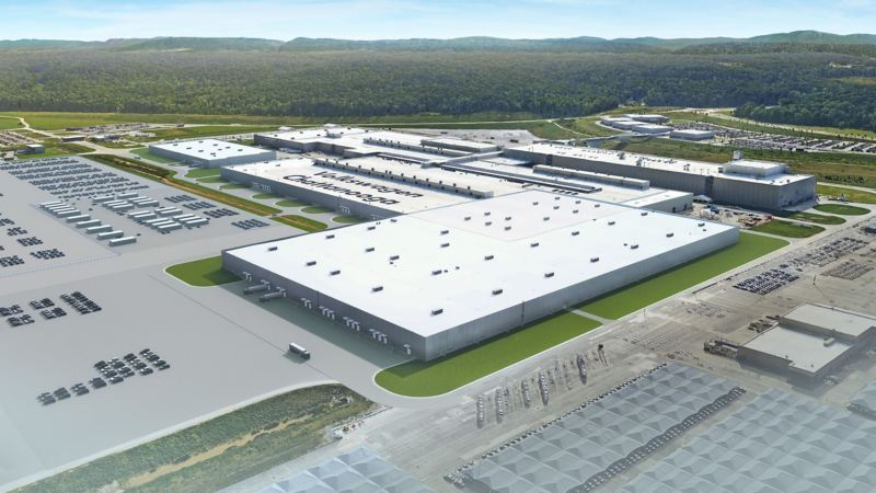 Rendering of Chatanooga plant expansion