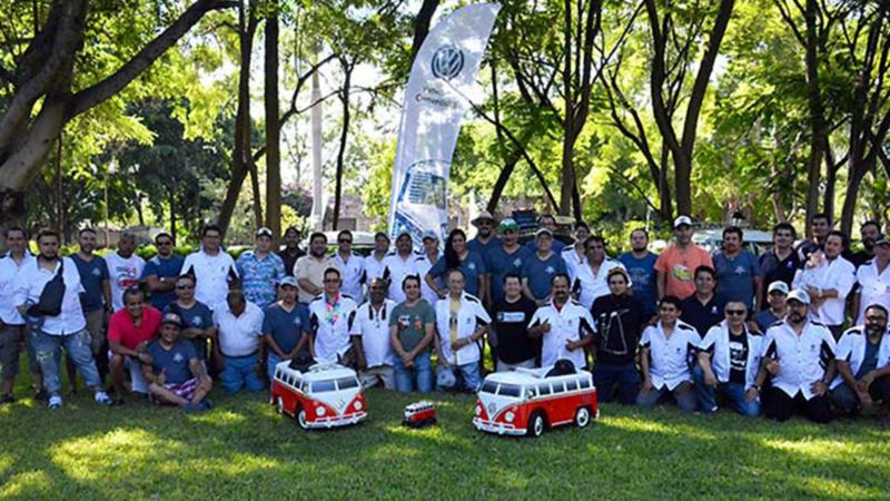 Evento para celebrar Combi, el auto clásico Volkswagen en 2018