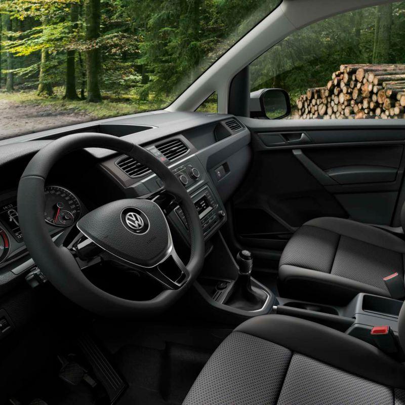 cabina de conduccion caddy kombi