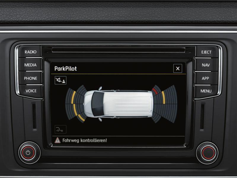 Volkswagen comerciales Caravelle Asistente de aparcamiento