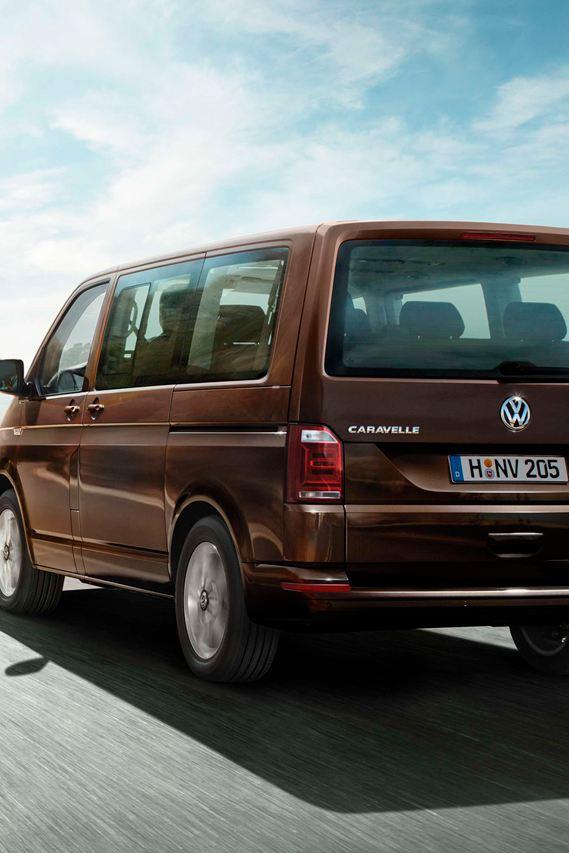 diseño exterior volkswagen caravelle vision trasera